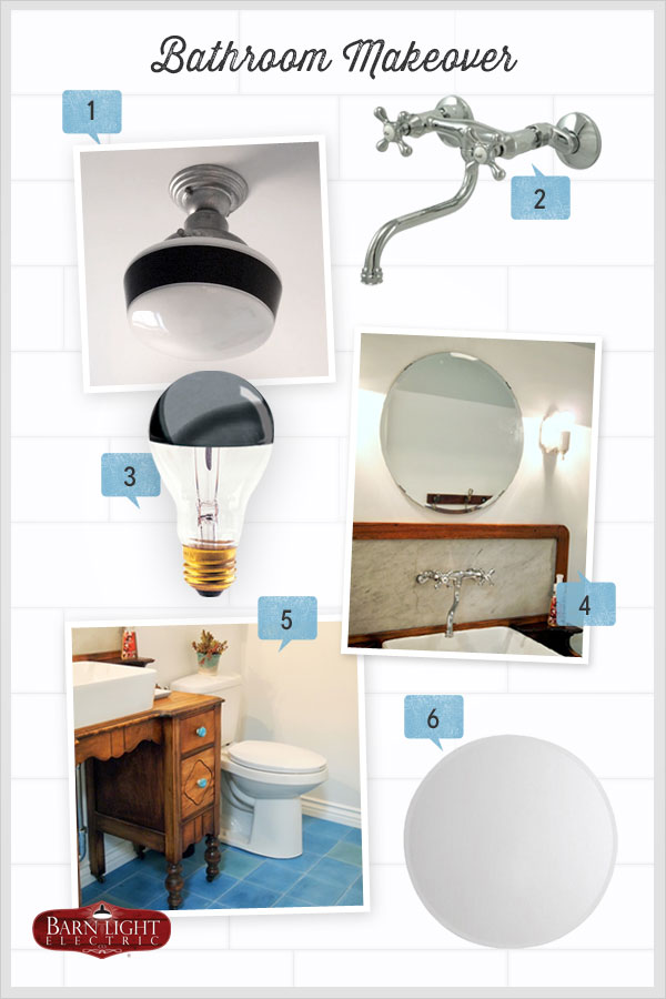 Style Me Sunday: Eclectic Bathroom Makeover