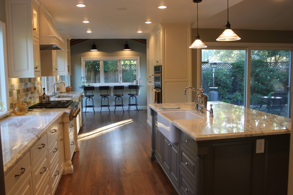 Q a with california homeowner on complete kitchen remodel for Complete kitchens