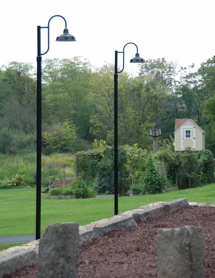Gooseneck Post Mount Lights Make Subtle Old World Statement Blog