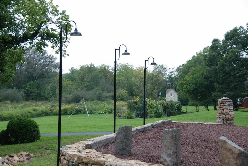 Gooseneck Post Mount Lights Make Subtle Old World Statement Blog Barnlightelectric Com