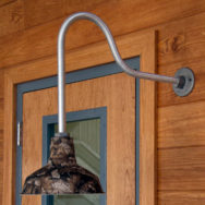 Camouflage Gooseneck Barn Lights Can't Hide Their Rugged Style