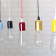 Bare Bulb Pendants Go From Basic and Boring to Bold and Beautiful