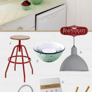 Style Me Sunday: American Made Kitchenwares & Lighting