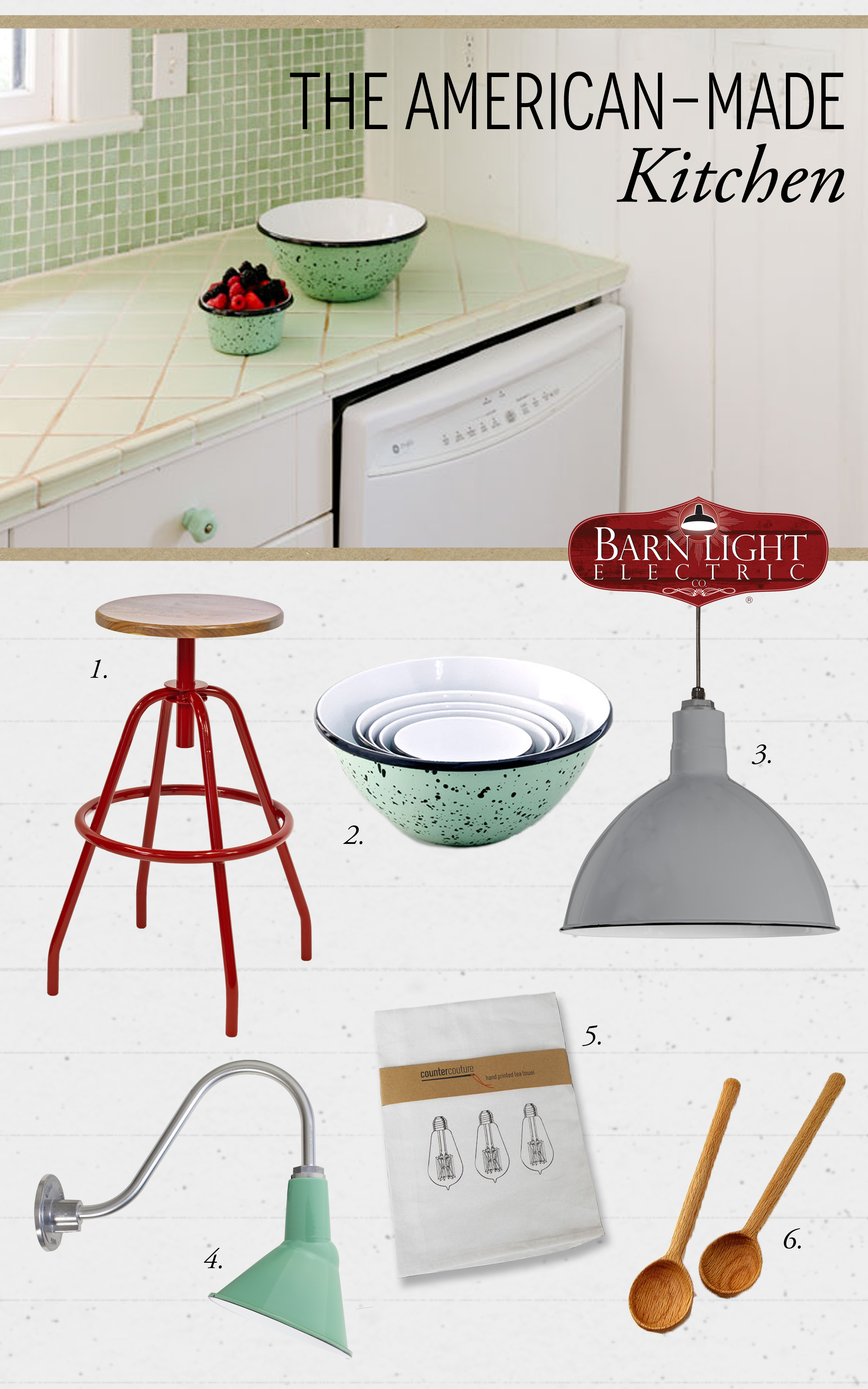 Style Me Sunday: American Made Kitchen