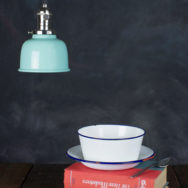 Deep Bowl Style in a Mini Shade Packs a Punch in Tight Spaces