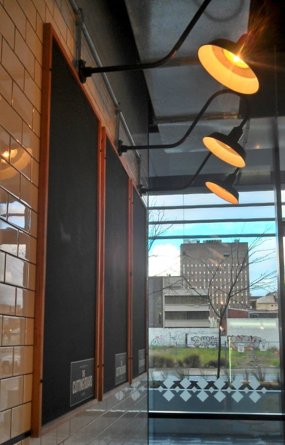 Rustic Goosenecks Sconces Lend Warehouse Look To Aussie