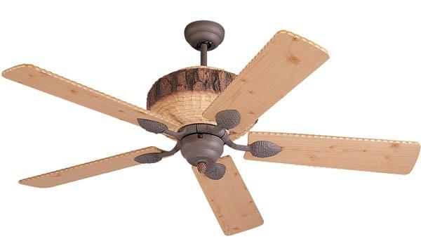 Barn Wood Ceiling Fan : Vintage ceiling fans stir the air evoke sense of drama
