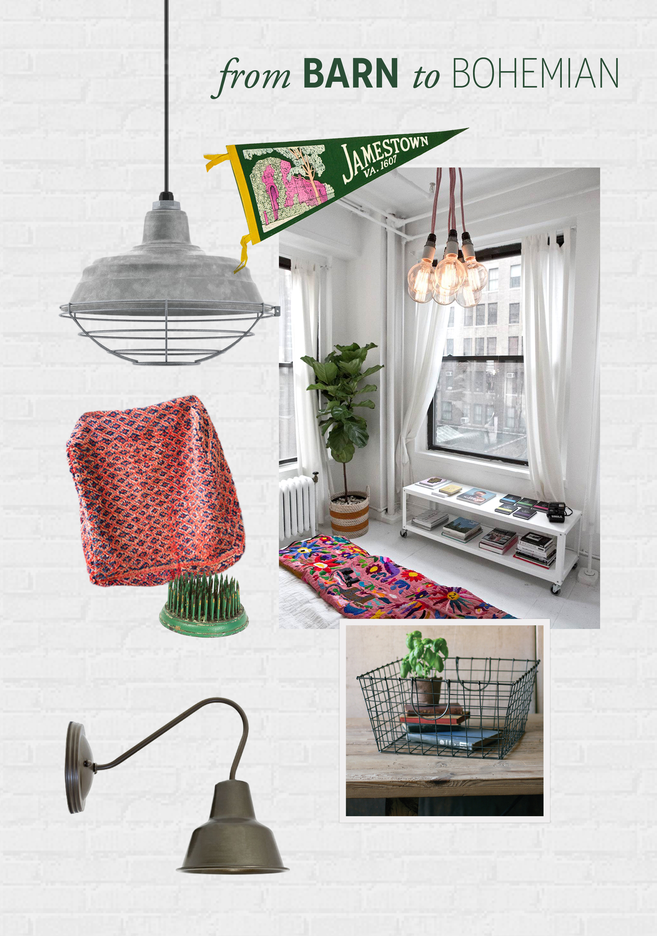 From Barn to Bohemian Style: Style Me Sunday