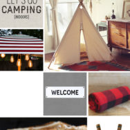 Style Me Sunday: Let's Go Camping (Indoors!)