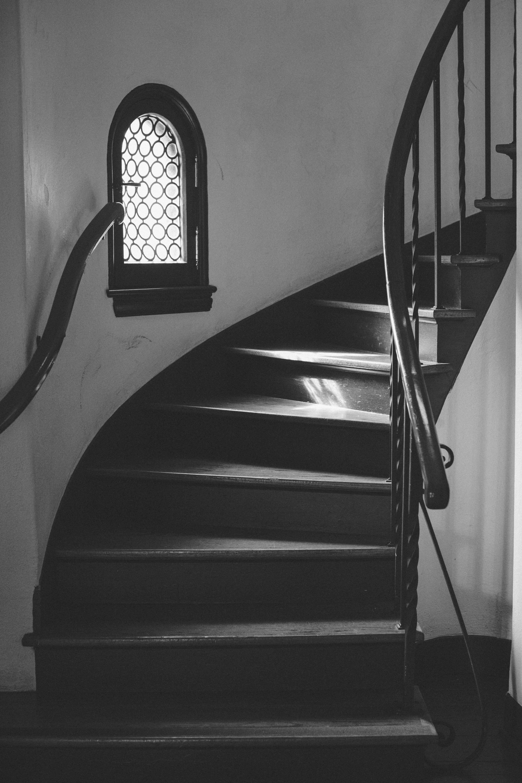 casa feliz stairway