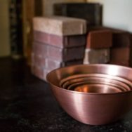 Solid Copper Bowls Combine Natural Beauty with Unrivaled Functionality