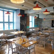 Vibrant Barn Lighting Transforms East Coast Fishbar