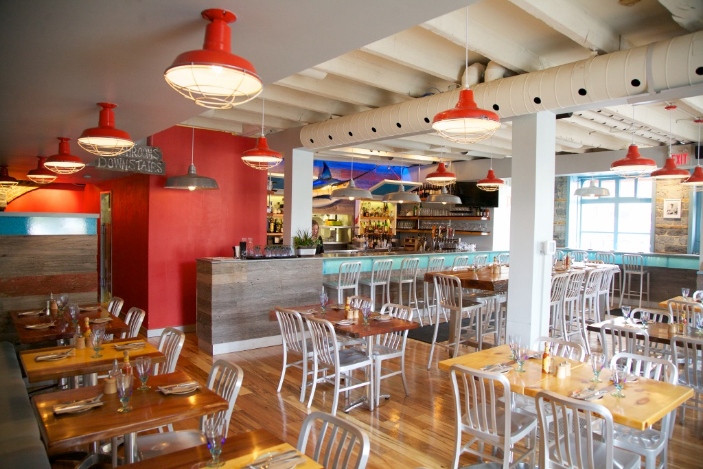 Vibrant Barn Lighting Transforms East Coast Fishbar Blog