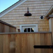 Professional's Corner  Copper Gooseneck Light Brightens Outdoor Shower
