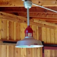 Barn Pendant Lighting Lends Rustic Edge to New Midwest Workshop