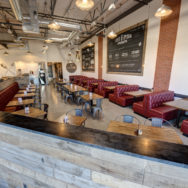 Galvanized Barn Lights Bring Southern Charm, Style to Vegas Eatery