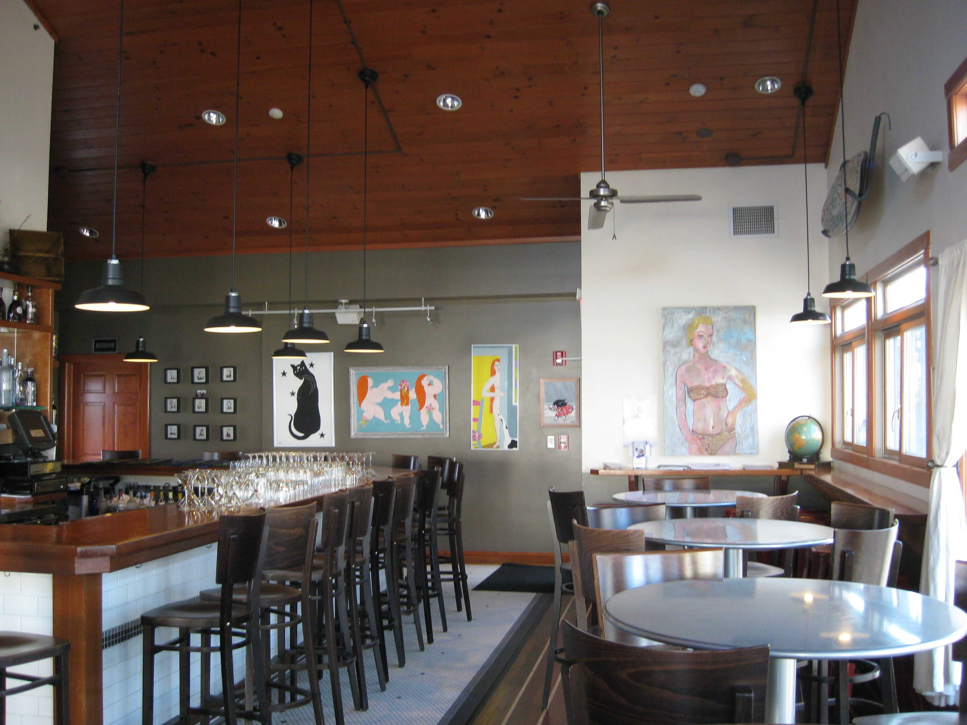 Featured Customer Led Barn Pendants For New Jersey Oyster Bar