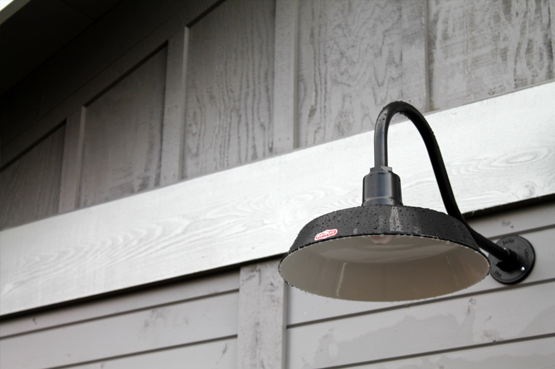 classic gooseneck lighting for oregon barn and workshop blog