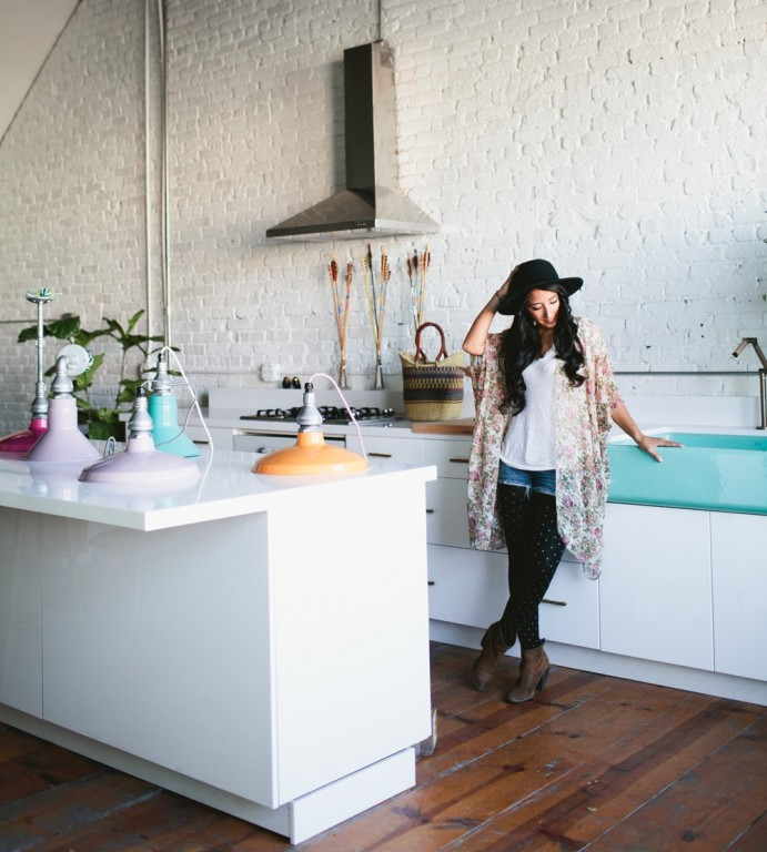 Passion For Color & Industrial Lighting: Q&A Veronica