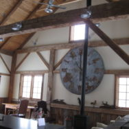 Featured Customer | Galvanized Barn Lights, Ceiling Fans Complete Rustic Look for Barn Home