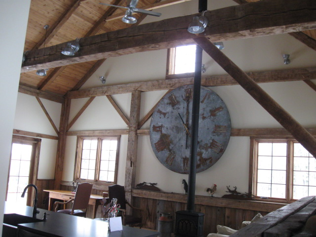 Galvanized Barn Lights, Ceiling Fans Complete Rustic Barn ...
