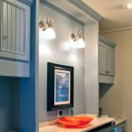 Vintage Lighting Adds Finishing Touch, Timeless Charm to Bathroom Spaces