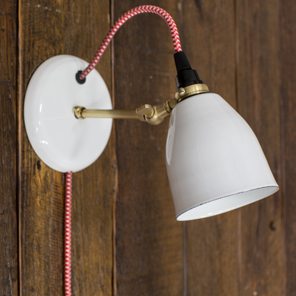 Vintage Inspired Task Lighting With Plug In Convenience