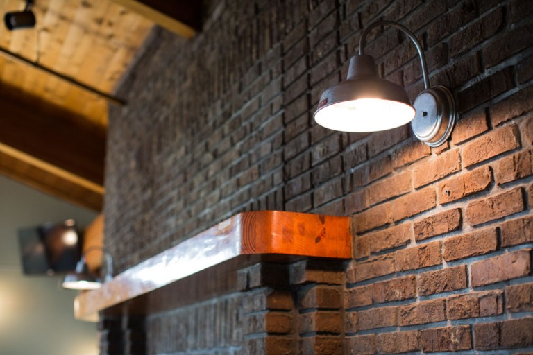 Wall Sconces For Restaurants : Rustic Lighting Lends Old Florida Feel to New Restaurant Blog BarnLightElectric.com