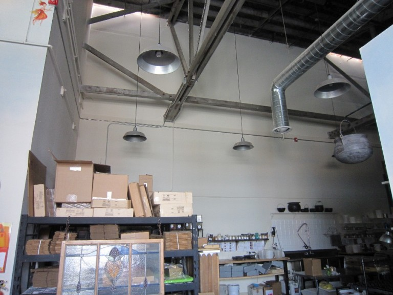 industrial look lighting. Featured Customer | Warehouse Lighting Lends Industrial Look
