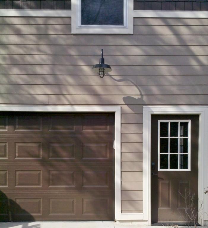 Garage Door Barn Lights: Wall Sconces, Gooseneck Lights Add Historic Feel To Garage