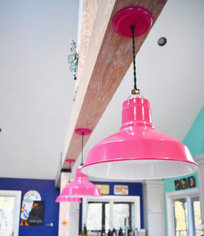 cord hung pendant lighting