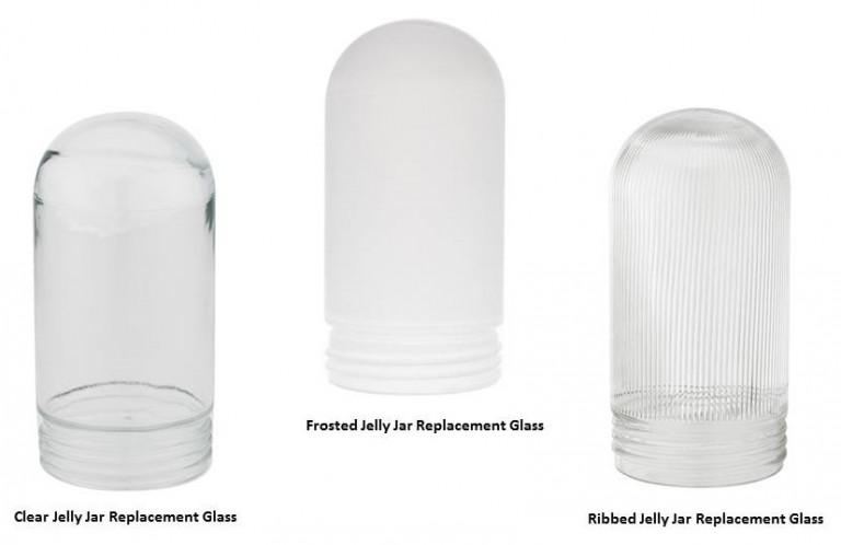 Glass Jelly Jar Light Fixture Cover Lighting Designs