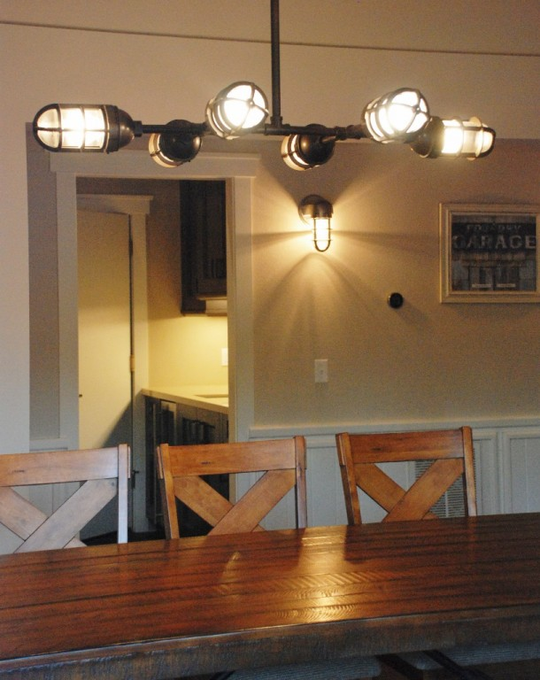 Featured customer industrial lighting fixtures for aesthetic remodel