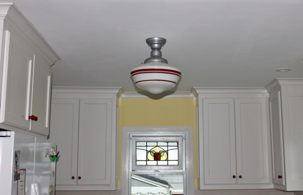 Http Blog Barnlightelectric Com Featured Customer Schoolhouse Pendants Crowning Touch In Tudor Kitchen Remodel