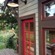 Featured Customer | Gooseneck Barn Light Highlights Treehouse