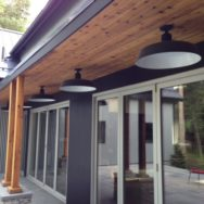 "Featured Customer | LED Barn Lights Blend Old & New in ""Cousins Undercover"" Home"