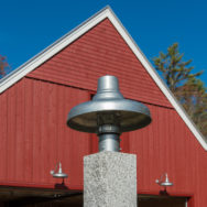 Exterior Lighting Chases Away Autumn Shadows, Adds Appeal