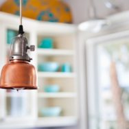 Brass, Copper Lighting Bring Warmth to Home During Autumn