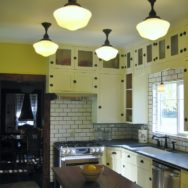 Featured Customer | Schoolhouse Lights Icing on the Cake in Kitchen Remodel