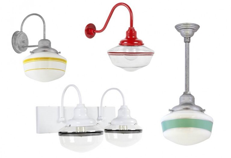 Schoolhouse Lighting Makes The Grade At Sauce Store Blog