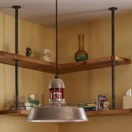 Professional's Corner | Industrial Ceiling Lights Add Rustic, Modern Mix