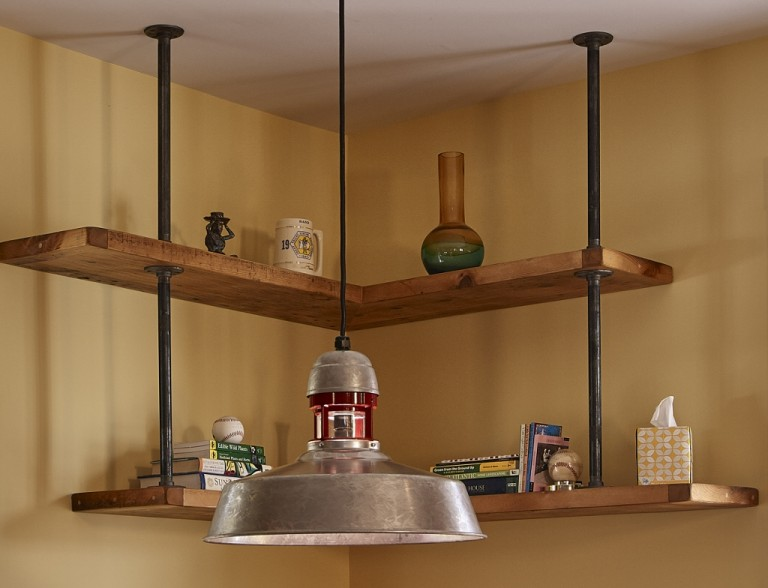 Industrial Ceiling Lights Add Rustic Modern Mix Blog