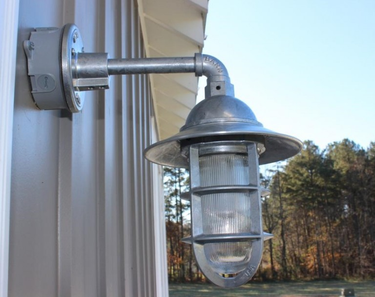 Gooseneck Barn Lights For Nc Farmhouse Blog