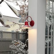 Featured Customer | Porcelain Enamel Wall Sconces Handle Vermont Winter with Style