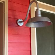 Featured Customer | Gooseneck Wall Lighting for Farmhouse Chic Style