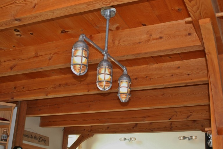 featured customer rustic industrial lighting gives nod to steampunk nautical