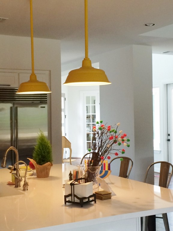Featured Customer | Industrial Pendant Lighting Pops In New Texas Home