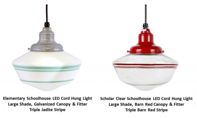 schoolhouse pendant light schoolhouse lights get top marks with energy efficient 10441