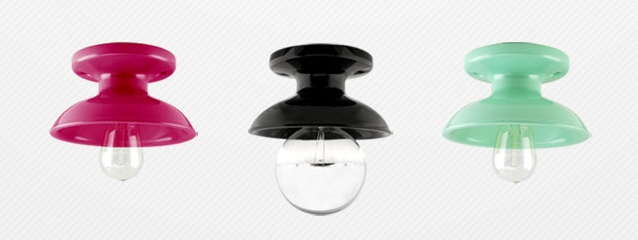 Inspired By The Ceramic Lighting Fixtures And Canopies Originally  Manufactured By Pass U0026 Seymour, ...