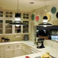 Featured Customer | Rustic Kitchen Lighting Ties Elements Together